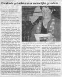 Marleen IJpelaar interview krant de kombinatie klein