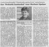 Marleen IJpelaar interview krant de Waalwijker klein