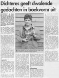 Marleen IJpelaar interview krant hier Zwijndrecht klein